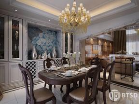 西安鲁班装饰-紫薇永和坊--四居室现代风格