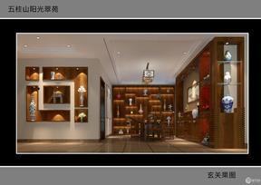 五桂山阳光翠苑 中式风格装修效果图