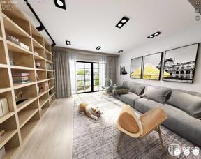 金色家园北欧风格装修